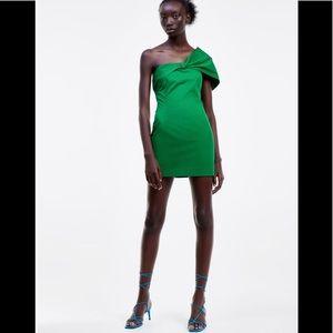 Zara One Shoulder Dress